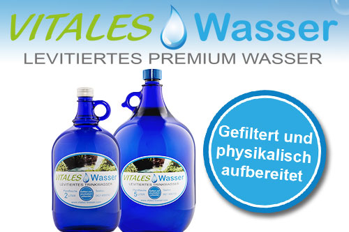 Levitiertes Premium Wasser