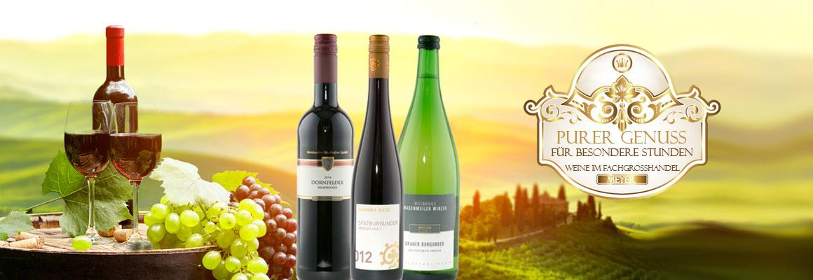 Wein Sortiment - Fachgroßhandel Meyer